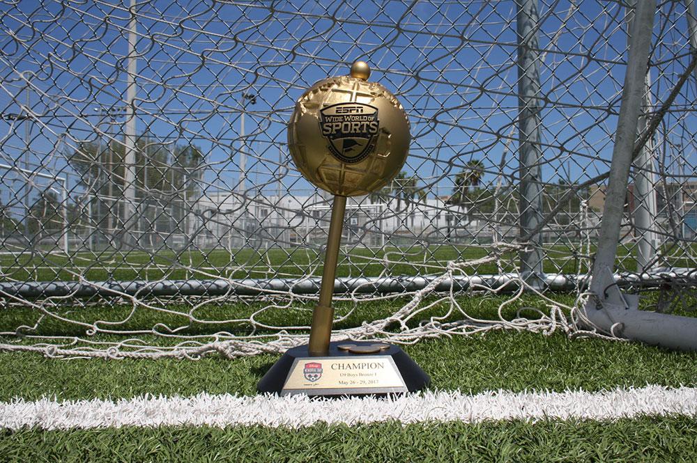 2017 U9 Boys Bronze Disney Memorial Day Champions