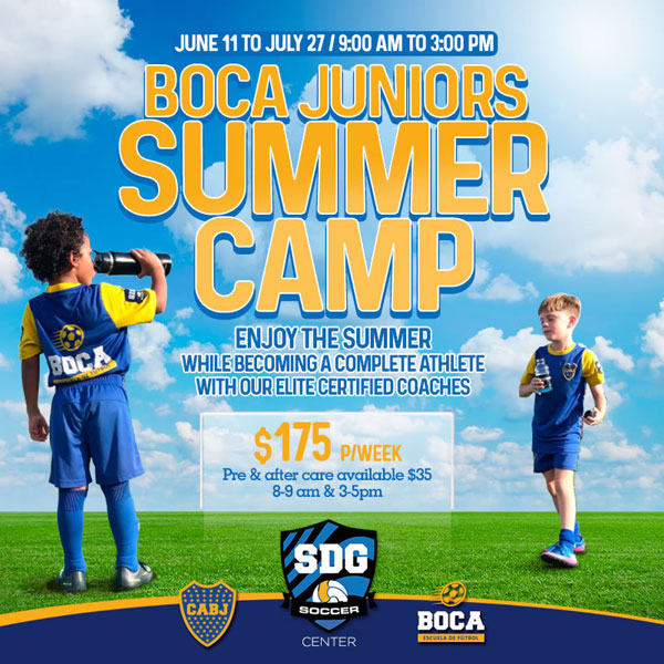 Boca Juniors Summer Camp